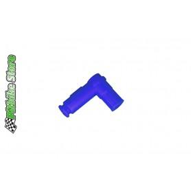 Zündkerzenstecker silicon blau